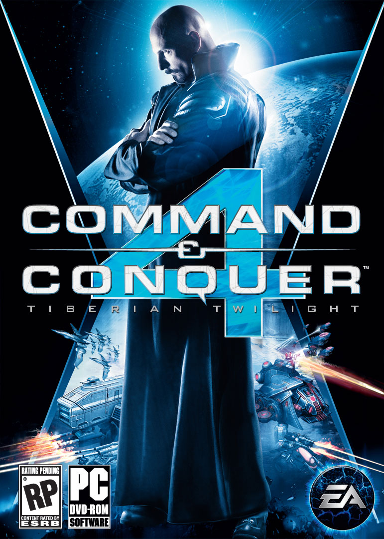 Command & Conquer 4 : Tiberian Twilight Boxart