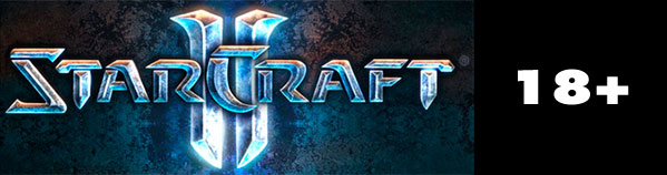 StarCraft II 18+ Rating