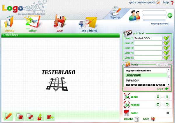 logoease Logoease โปรแกรมทำโลโก้แบบออนไลน์ที่ใช้ง่ายสุดๆ