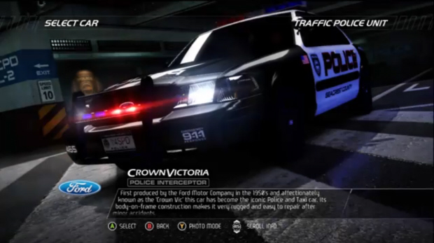 Need For Speed Hot Pursuit (Interceptor Car)