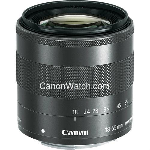 EOS M 18-55m lens