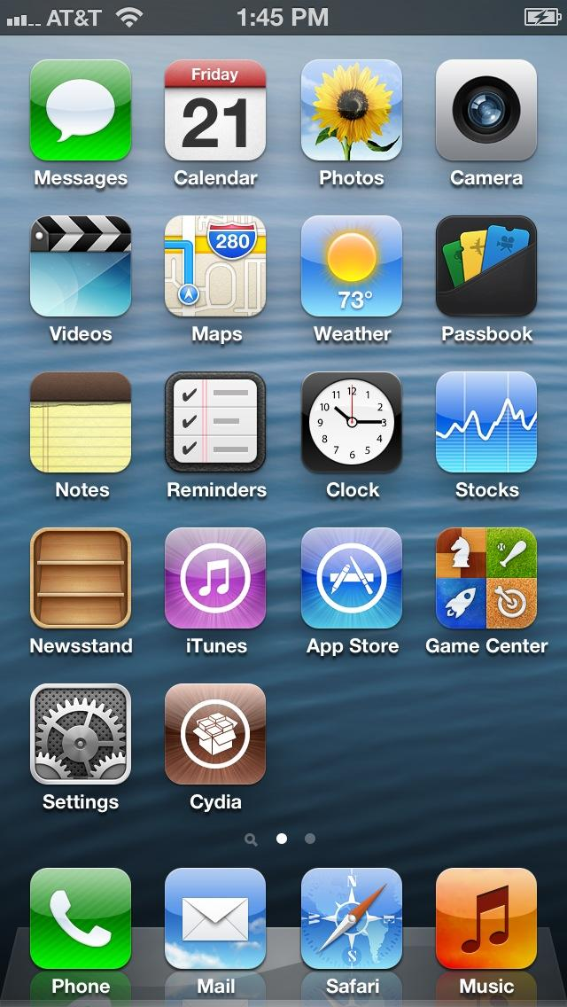 Cydia Icon iPhone 5