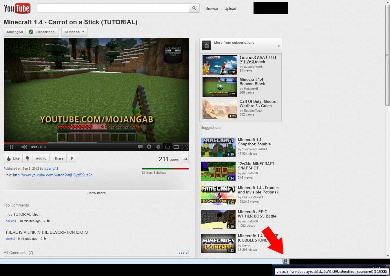 โปรแกรมดาวน์โหลด Youtube วิธีสังเกตว่าลิงก์ใช้งานได้รึเปล่า