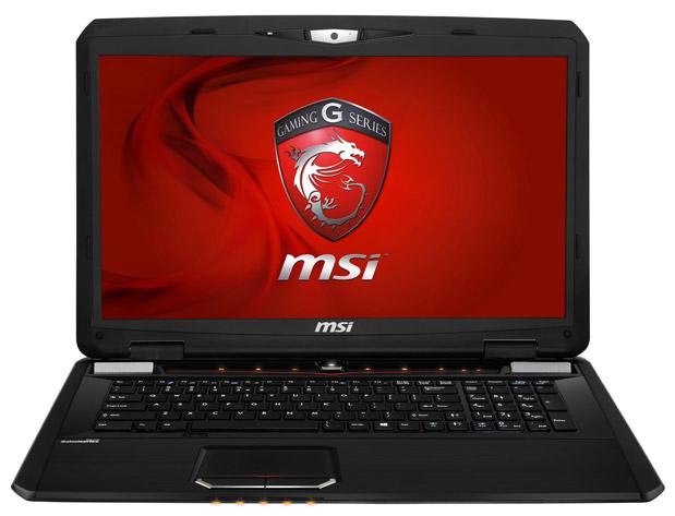 MSI GX70 สเปค 1080p, Radeon 8970M, 750GB HDD, 8GB RAM, Blu-ray drive, 45000 บาท