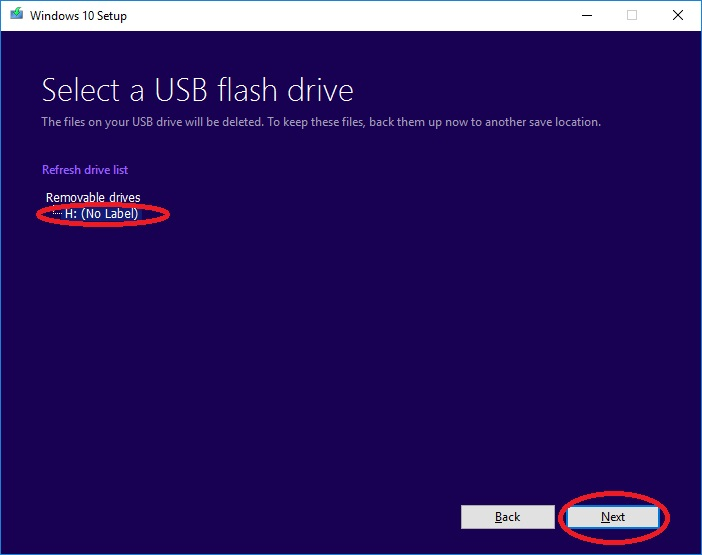 install windows 10 via usb 008