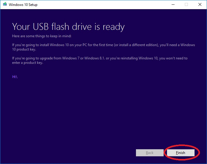 install windows 10 via usb 010